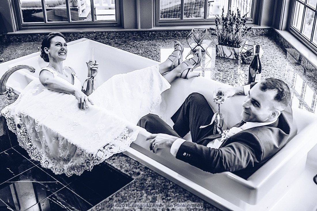 Laughing-Bride-and-Groom-in-Bathtub-Amanda-Ambrose-Photography-2018
